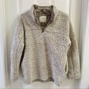 Altar'd State Wubby Sherpa Pullover Size Small